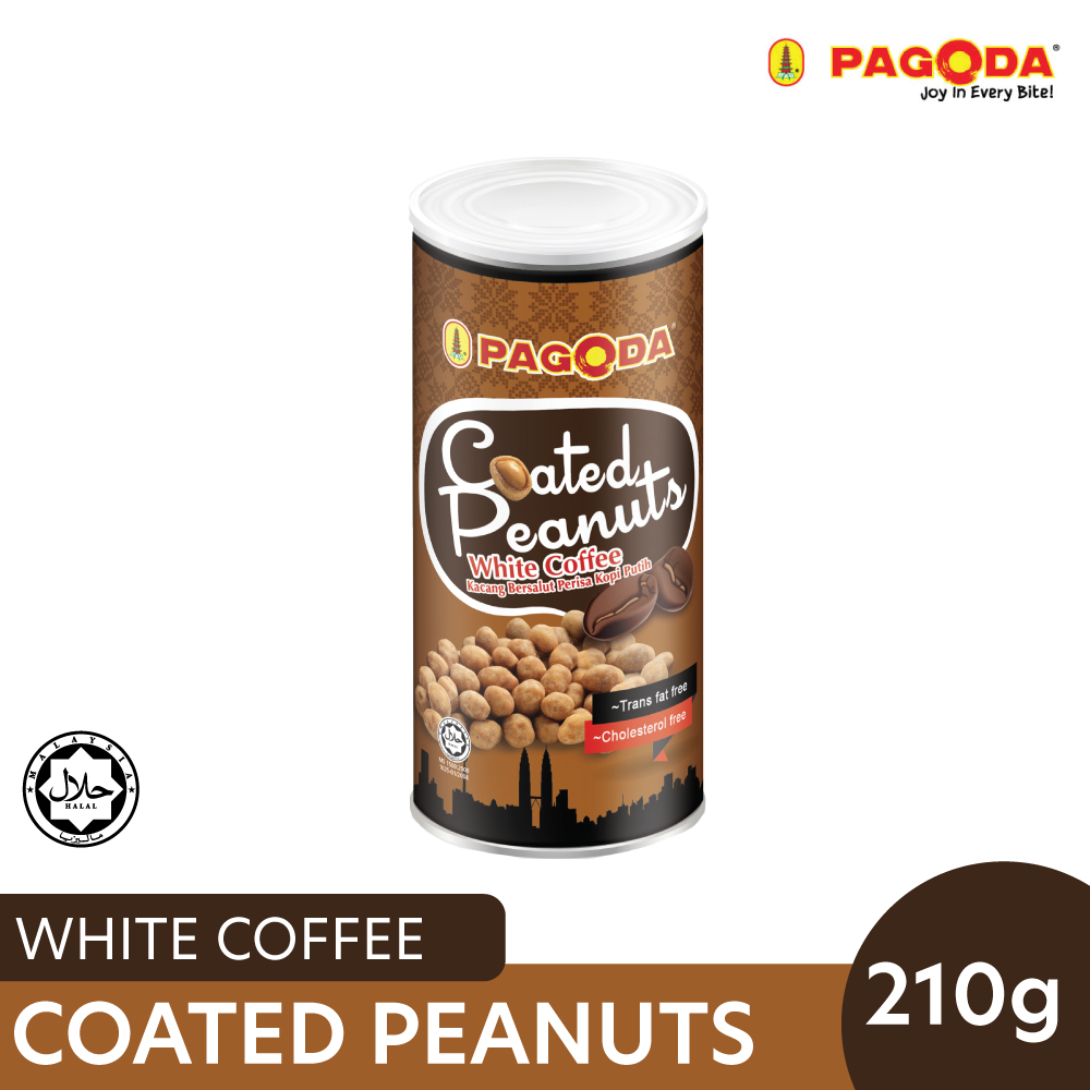 Pagoda Coated Peanut White Coffee 210g