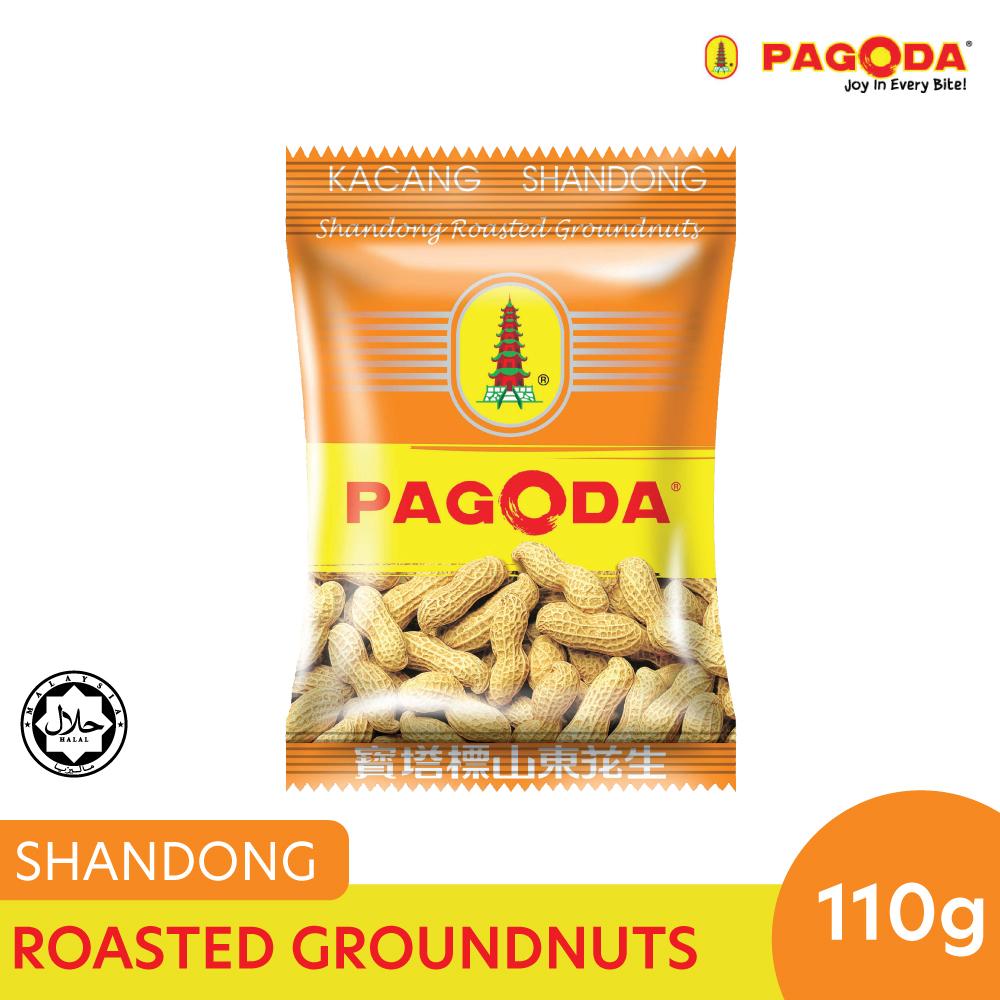 Pagoda Shandong Roasted Groundnuts 110g