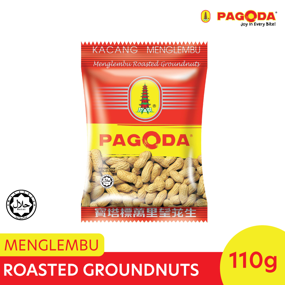 Pagoda Menglembu Roasted Groundnuts 110g