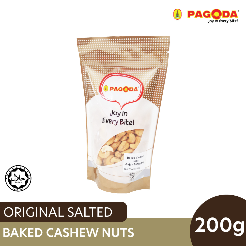 Pagoda Salted Baked Cashew Nuts 200g
