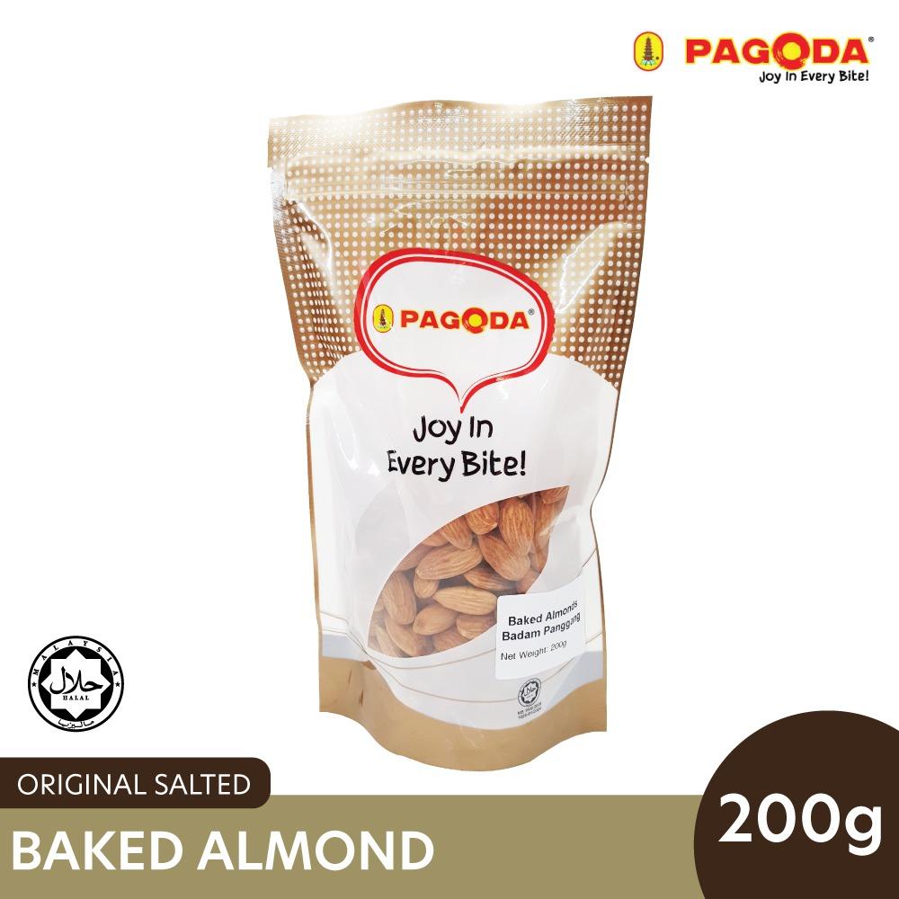 Pagoda Salted Baked Almonds (Salted) 200g