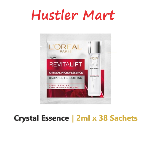 L'Oreal Paris Revitalift Crystal Micro Essence 2ml x 38 sachets (76ML)