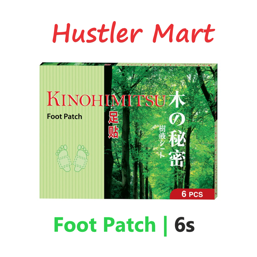 Kinohimitsu Foot Patch 6s