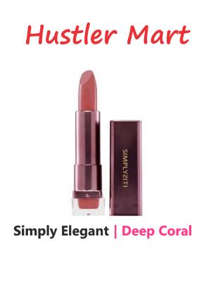 SimplySiti Simply Elegant Lipstick Moist - Deep Coral LC03