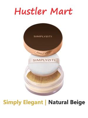SimplySiti Simply Elegant Loose Powder - Natural Beige SLP02
