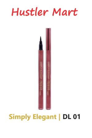 Simply Elegant Definition Liquid Eye Liner Black (DL01)