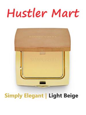 SimplySiti Simply Elegant Compact Powder Foundation - Light Beige CP01