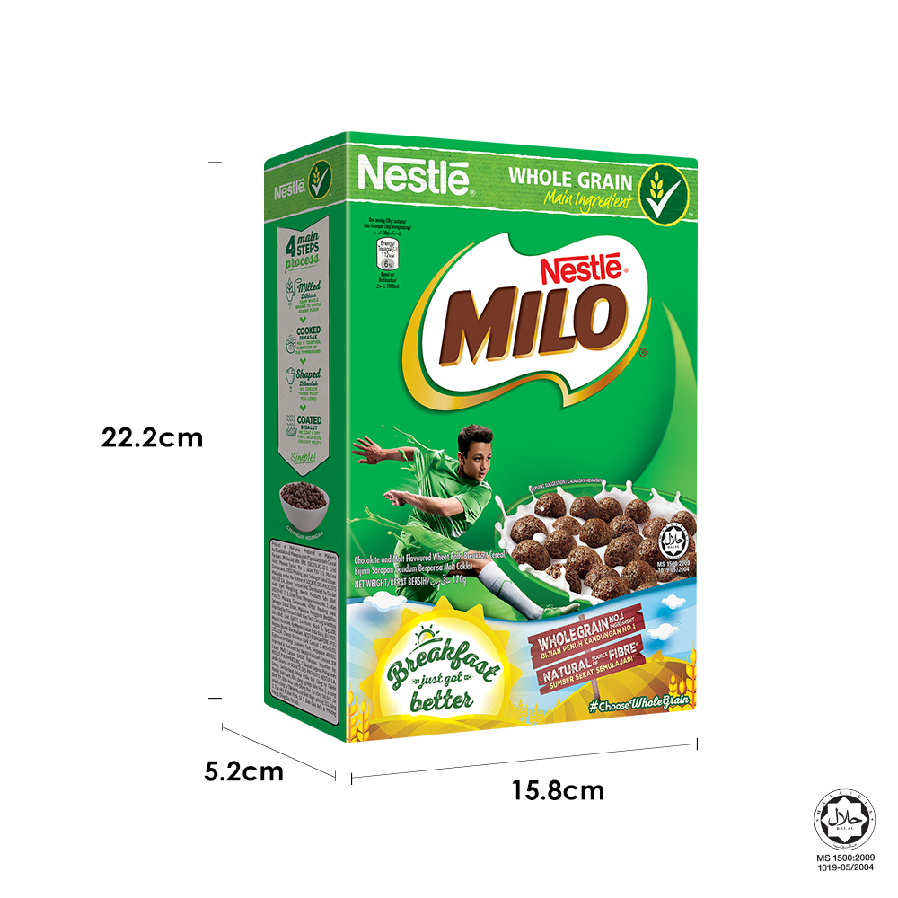 NESTLE MILO Breakfast Cereal Medium 170g