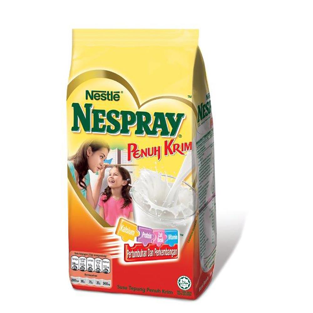 NESPRAY Full Cream Milk Powder Softpack 550g