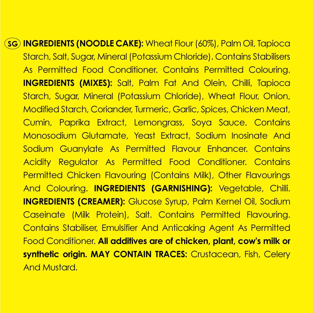 MAGGI Hot Mealz Kari Laksa Ayam Bowl (97g x 2 bowls)