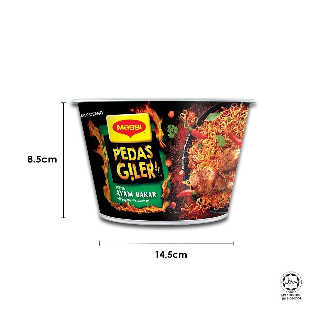 MAGGI Pedas Giler TomYummz 97g Buy 3 Free MAGGI Pedas Giler Grilled Chicken