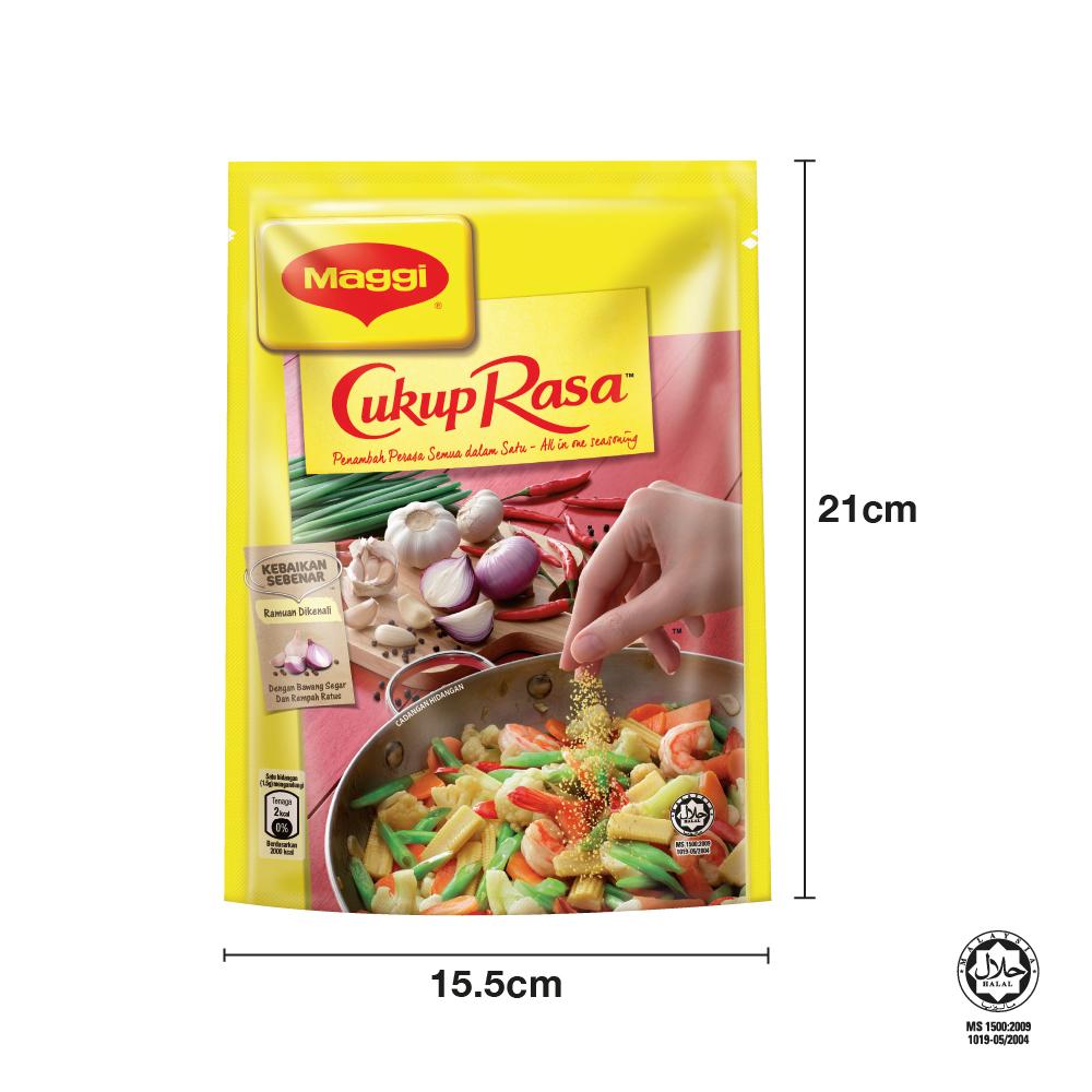 MAGGI Cukup Rasa All In One Seasoning 300g, Bundle of 2
