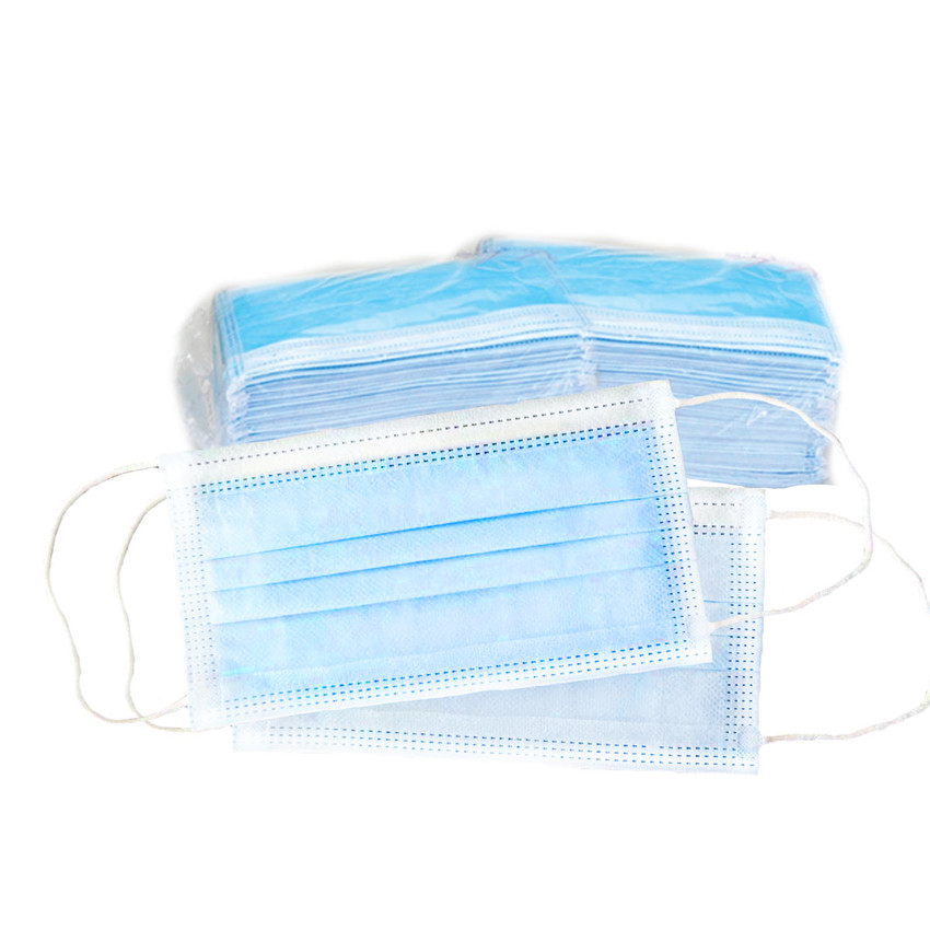 3 Ply Face Mask (Pack) - 1 pack (50 Pcs)