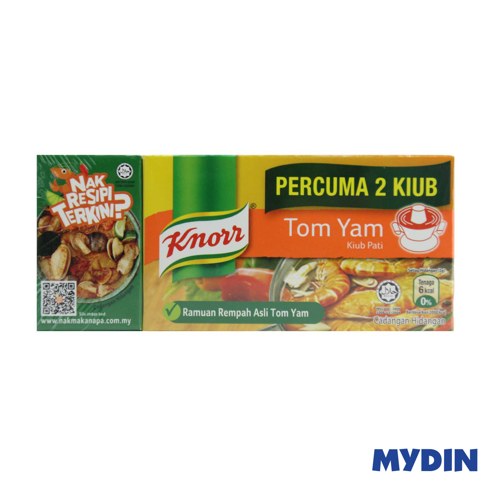 Knorr Tom Yam Stock Cubes (8s x 10g)