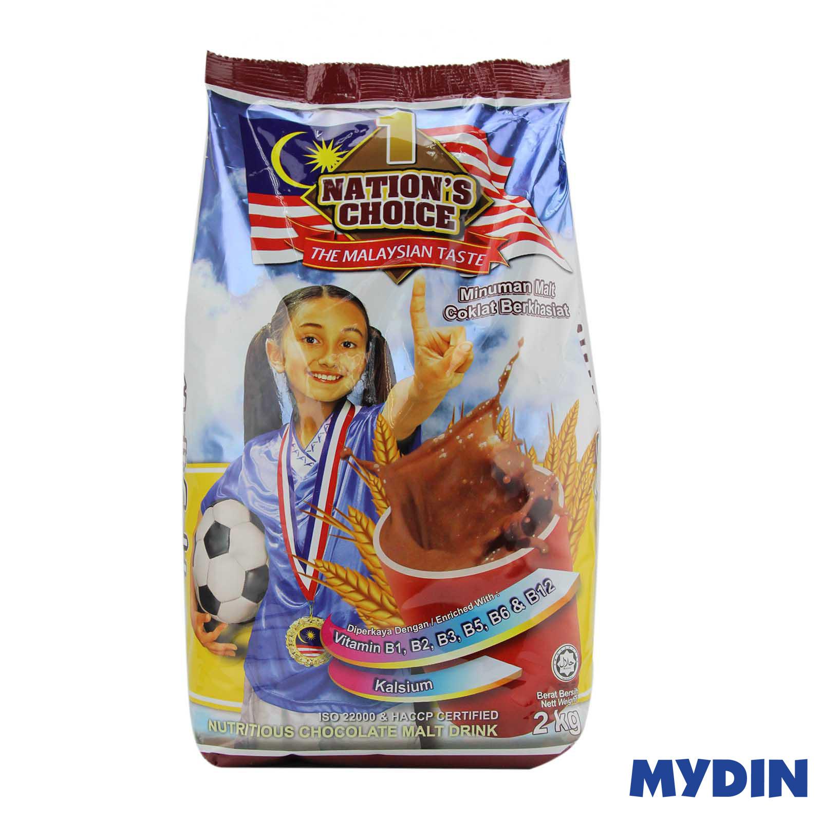 1 Nations Chocolate Malt 2kg