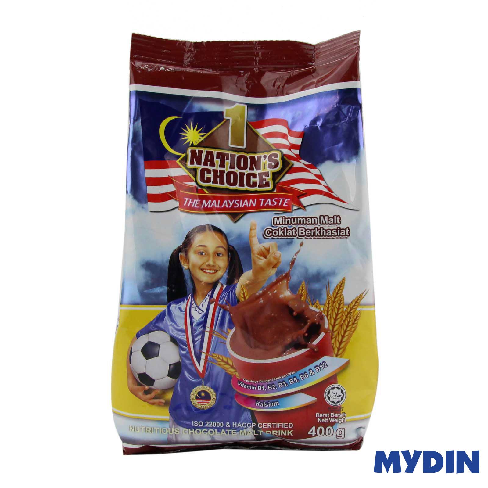 1 Nations Chocolate Malt 400gm