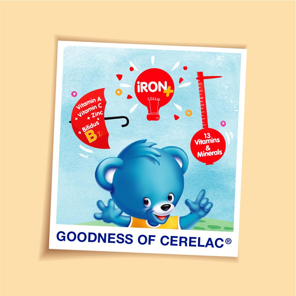 NESTLE CERELAC Rice Soya Infant Cereal Tin 350g EXP Date: April 2021