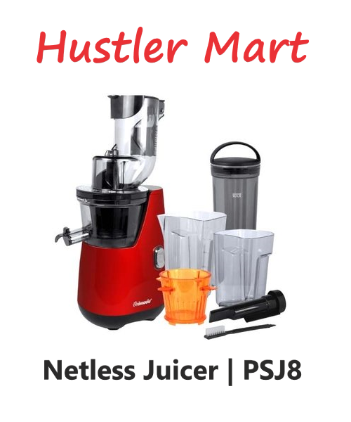 Primada Netless Whole Slow Juicer PSJ8