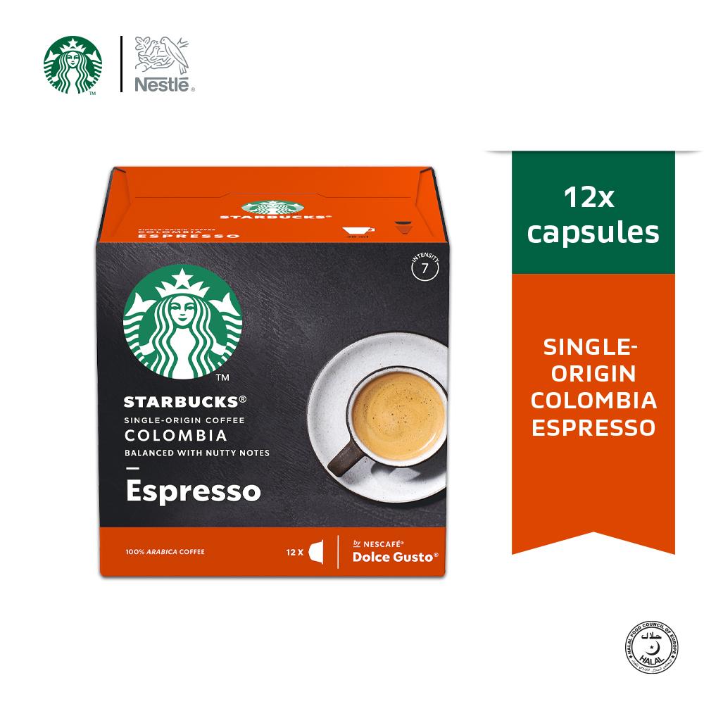 STARBUCKS Espresso Colombia 12 Cap 66g ExpDate:OCT'20