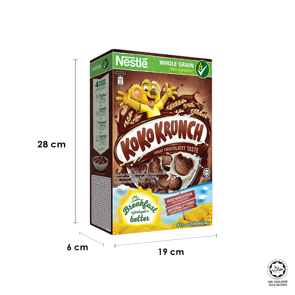 NESTLE KOKO KRUNCH CerealLarge (330g x 2 boxes)