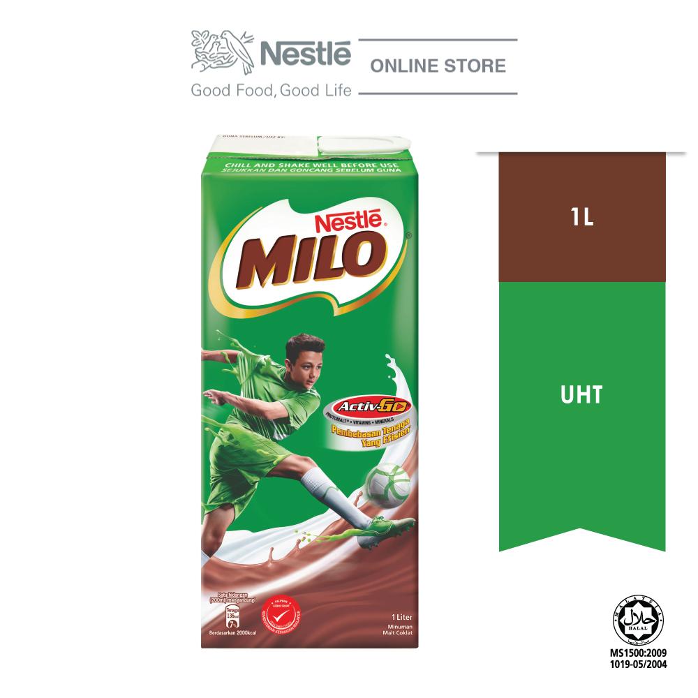 MILO ACTIV-GO Chocolate Malt RTD, 1 L