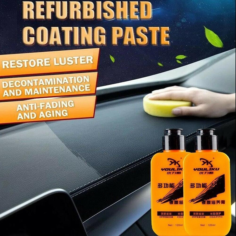 Fantastic XML Automotive Car Interior car maintenance Leather Renovated Coating Paste DIY cleaner cleaning