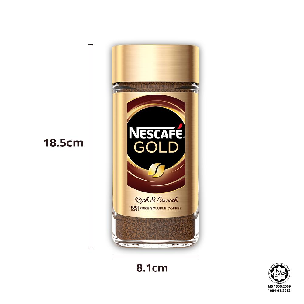 Nescafe Signature Gold Jar 200g, Bundle of 2