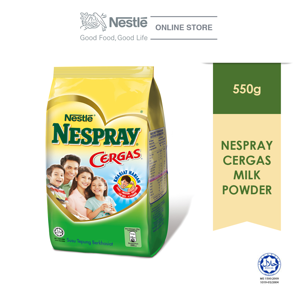 NESPRAY CERGAS Milk Powder Softpack 550g
