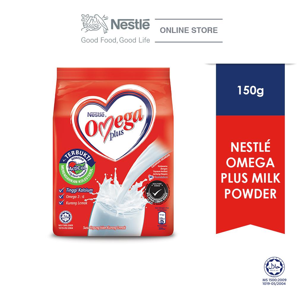 NESTLE OMEGA PLUS Milk Powder Softpack 150g