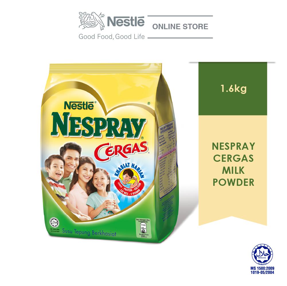 NESPRAY CERGAS Milk Powder soft pack 1.6kg