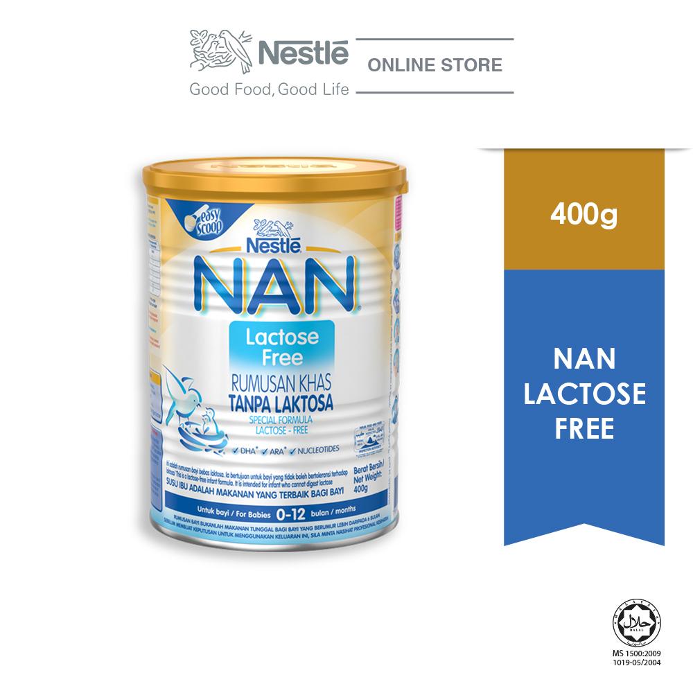 NAN Lactose Free, Special Formula Tin 400g