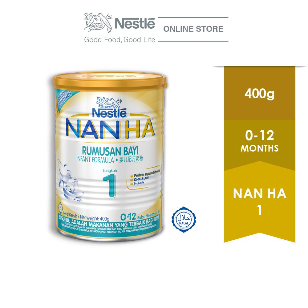 NAN HA 1 Infant Milk Formula, 1 Tin of 400g