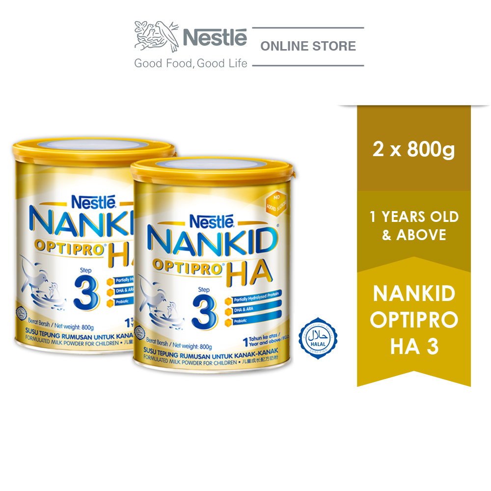 NANKID OPTIPRO HA 3 800g , 2 Tins