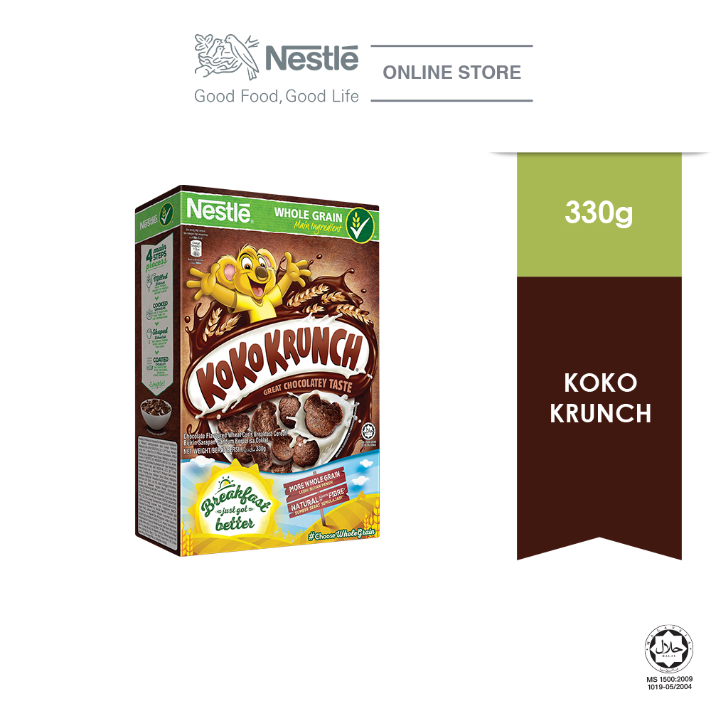NESTLE  KOKO KRUNCH Cereal Large 330g
