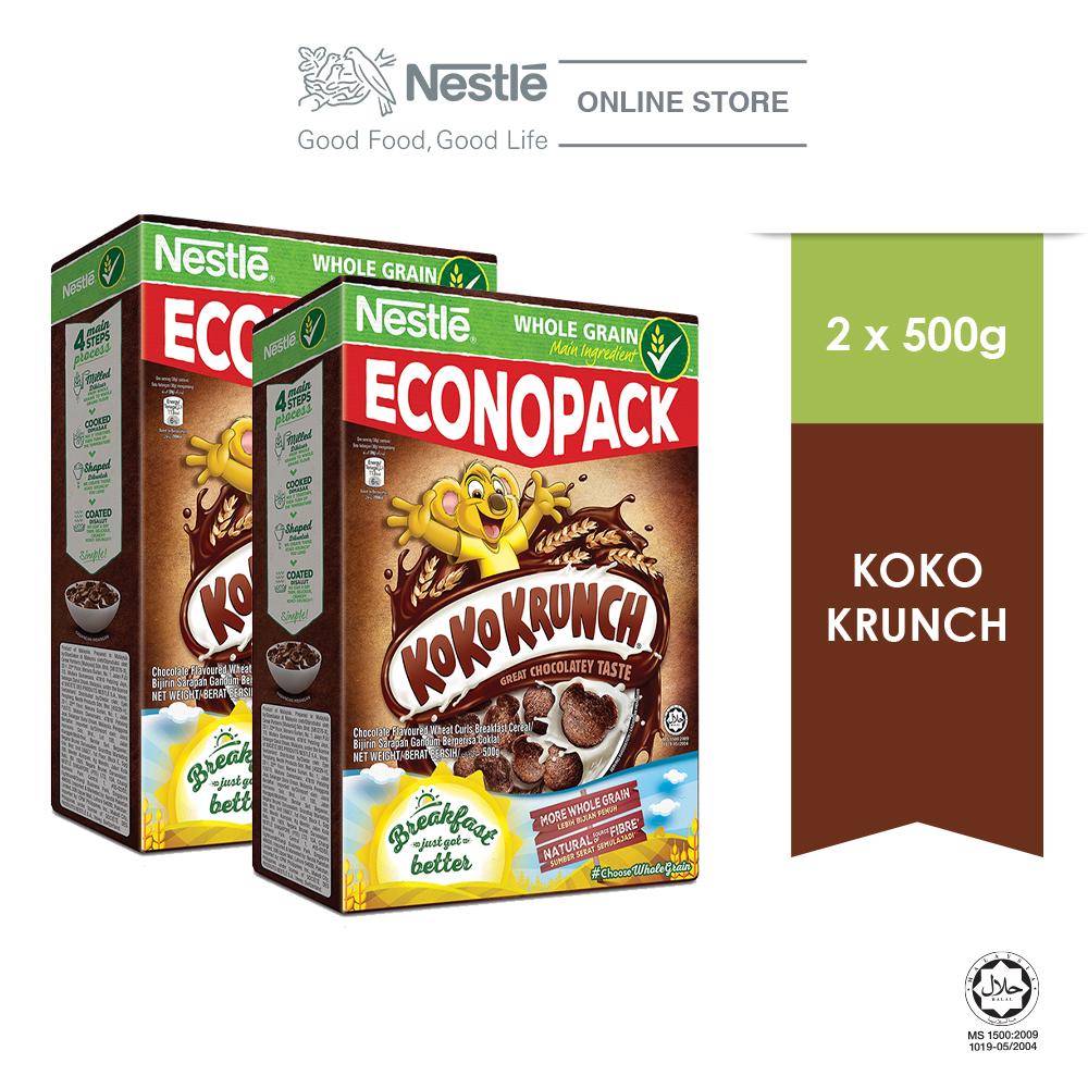 NESTLE KOKO KRUNCH CerealEconopack 500g, Bundle of 2