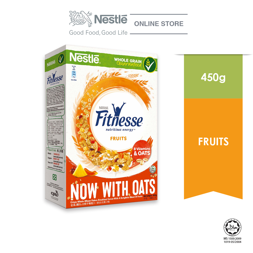 NESTLE FITNESSE Fruit Cereal 450g
