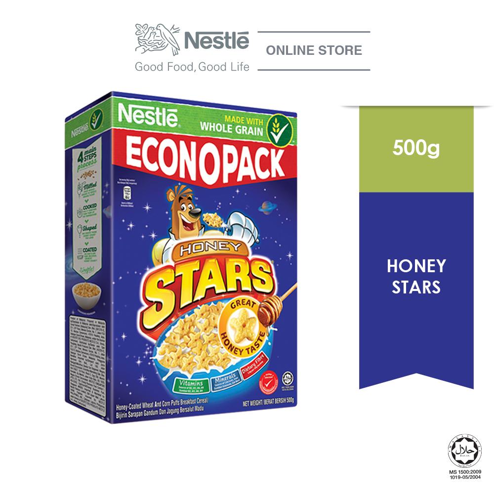 NESTLE  HONEY STARS Cereal Econopack 500g