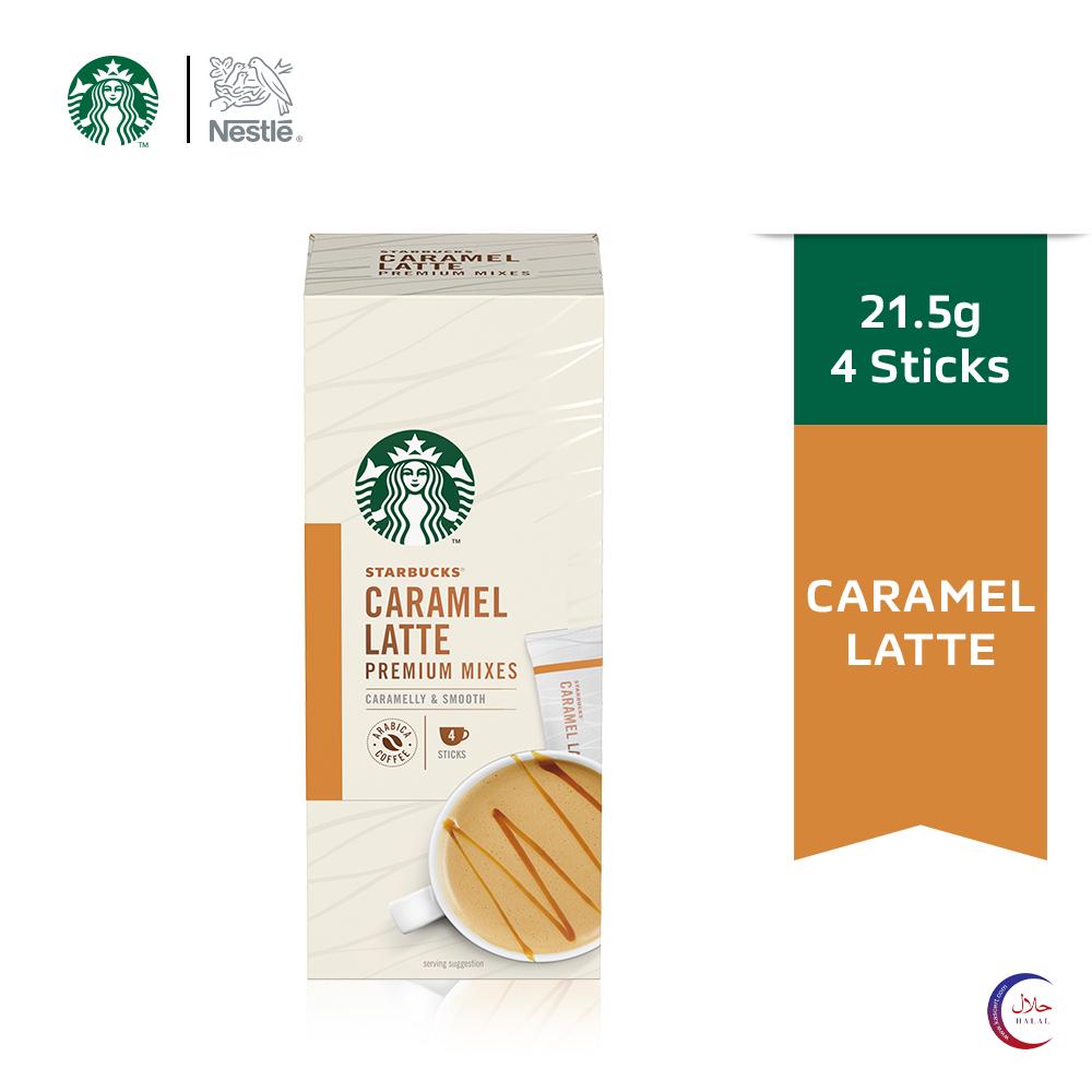 STARBUCKS Caramel Latte Premium Instant (4x21.5g) ExpDate:DEC20