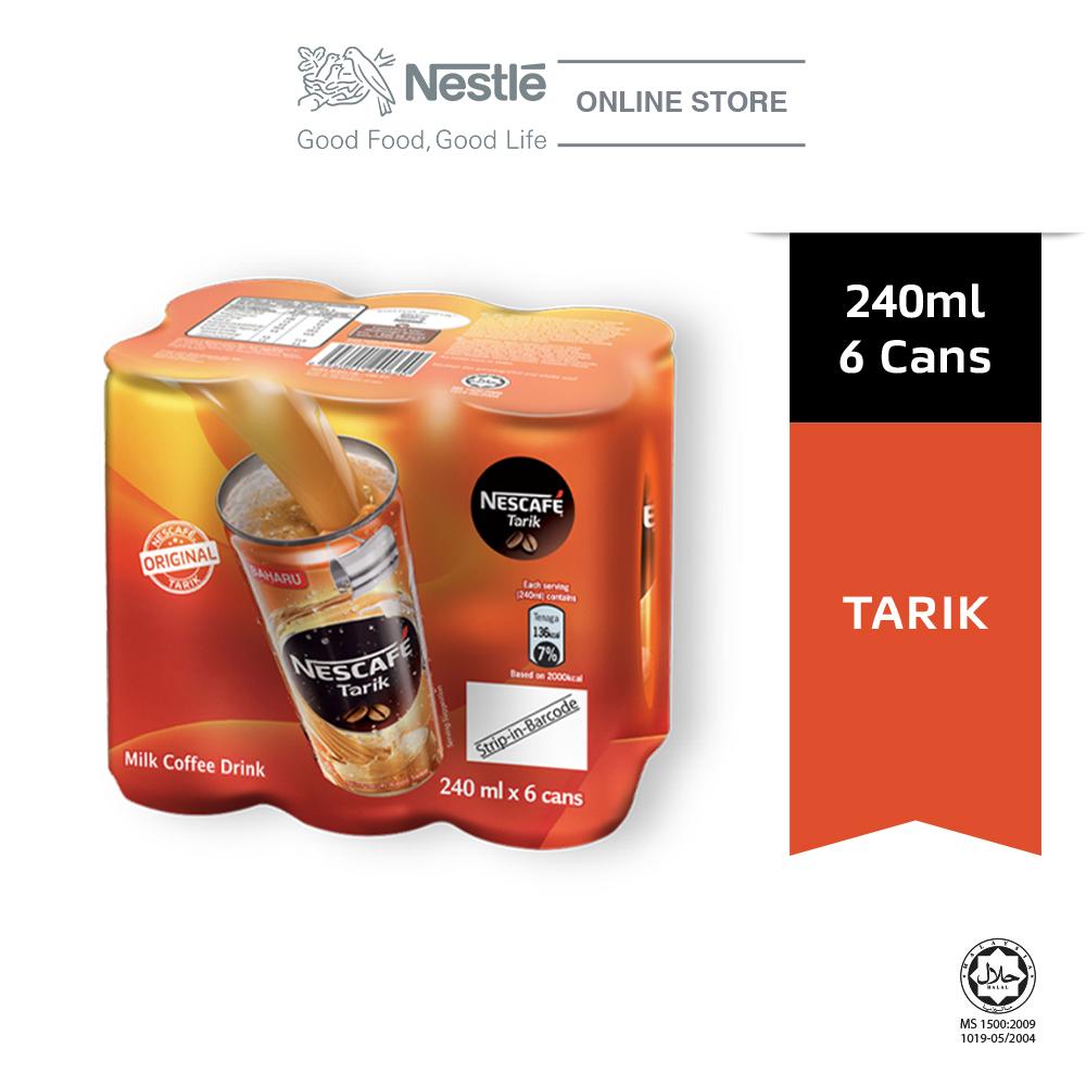 NESCAFE Tarik 6 Cans 240ml