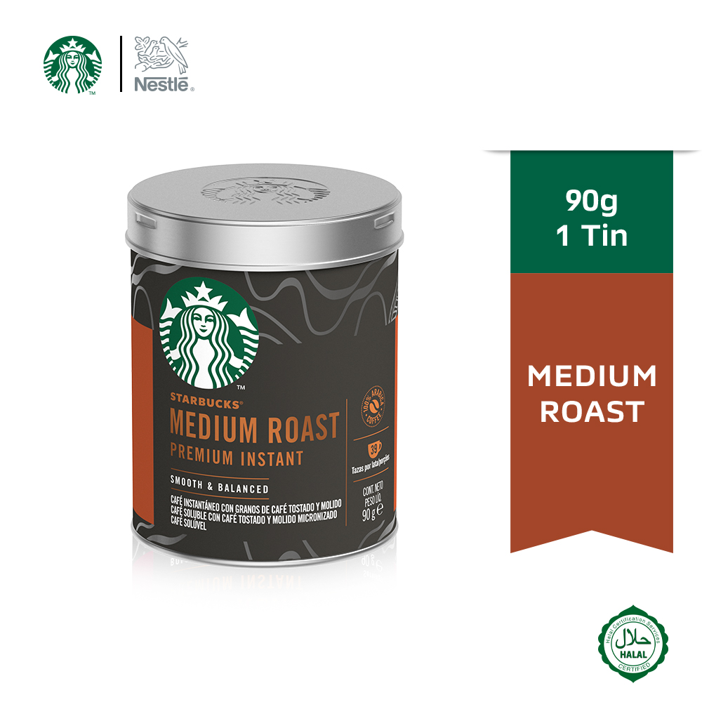 STARBUCKS Medium Roast Tin 90g