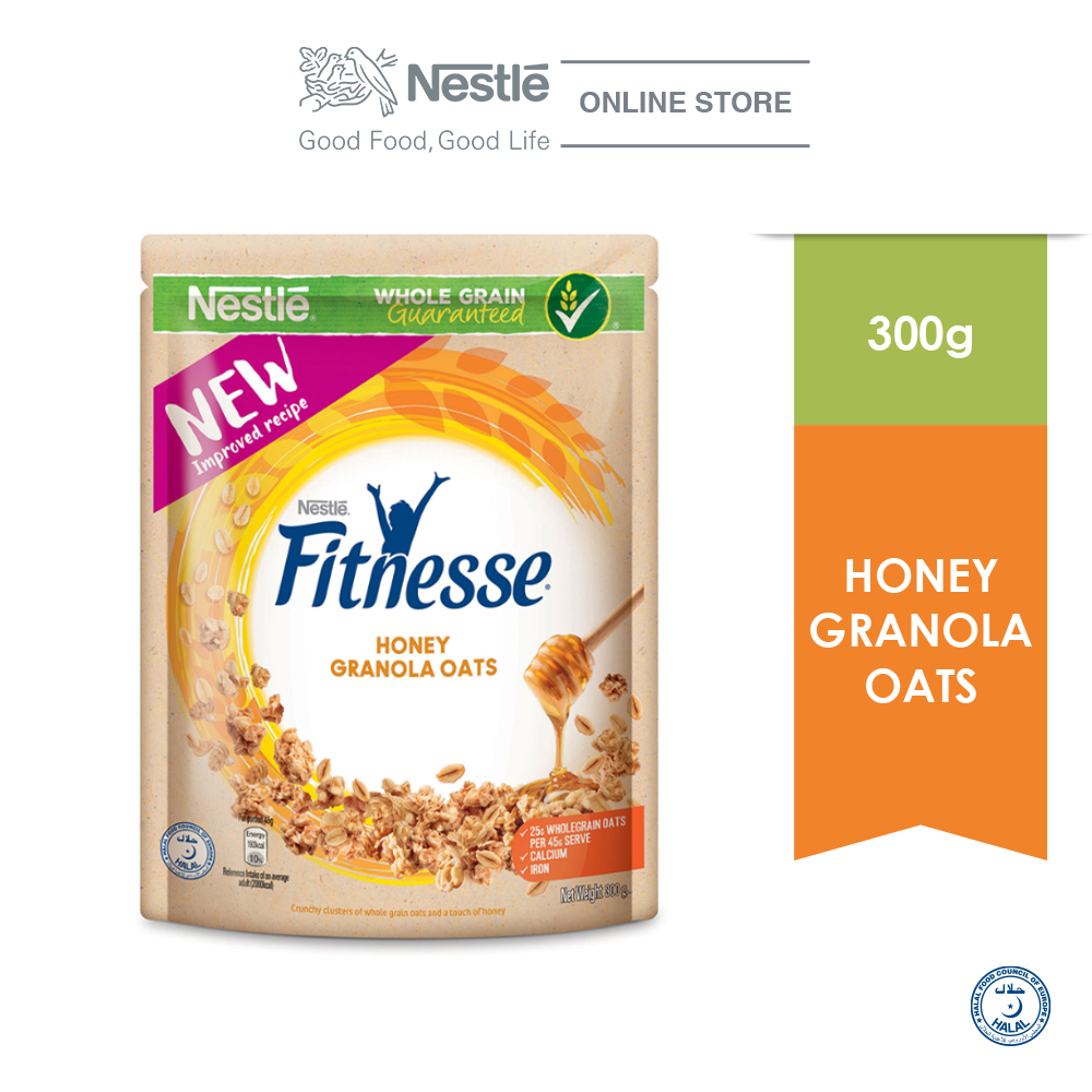 Nestle Fitnesse Granola Oats & Honey 300g