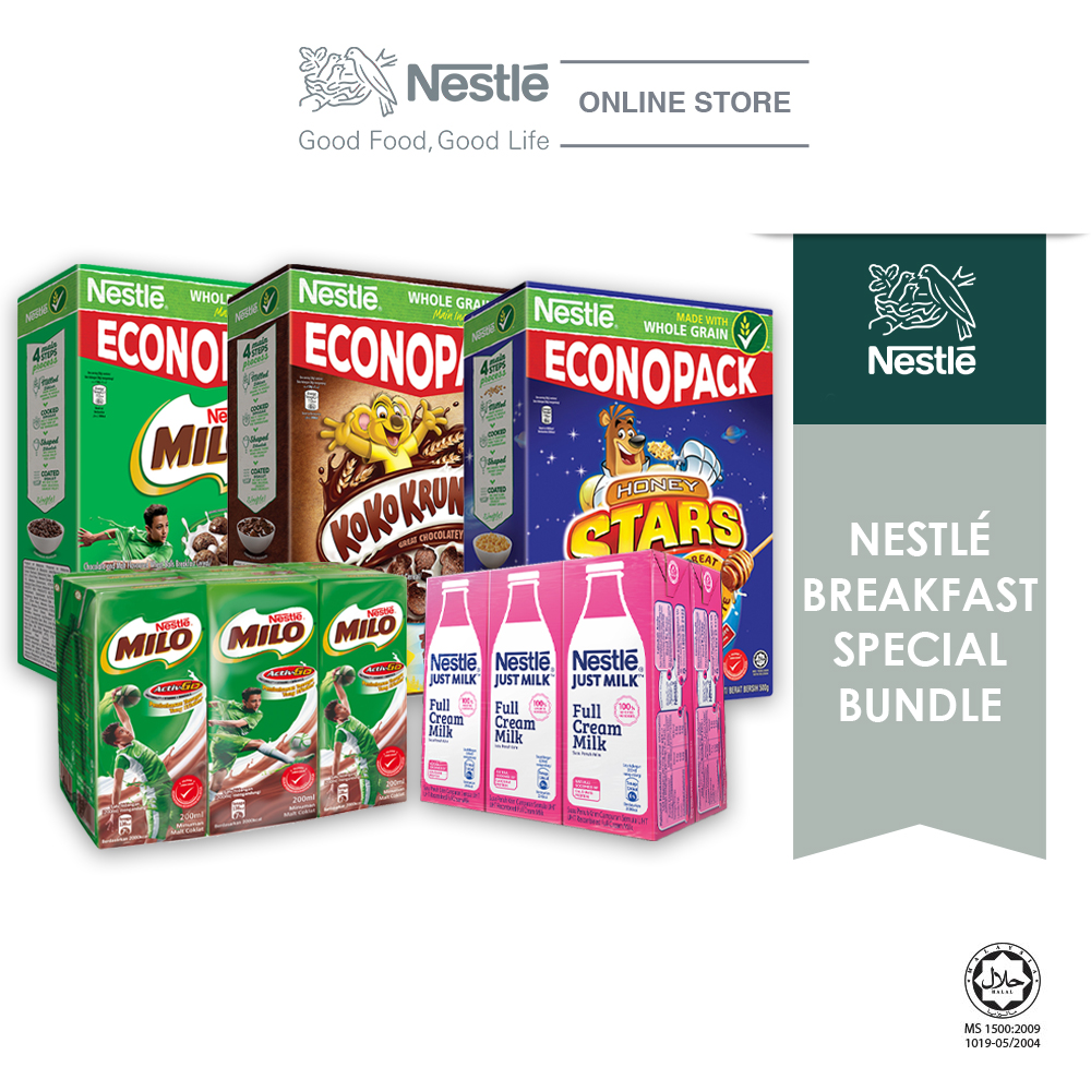 Nestle Breakfast Special Bundle