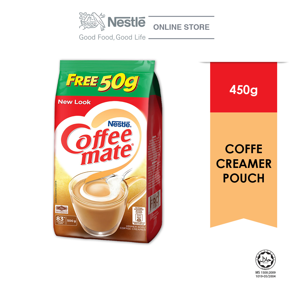 COFFEE-MATE Pouch 450g Free 50g
