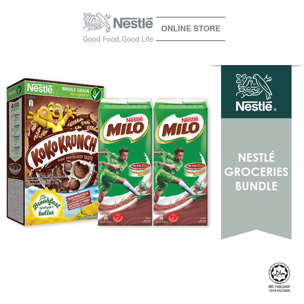 Nestle Groceries Bundle - Option 3 (MILO UHT & KOKO KRUNCH)