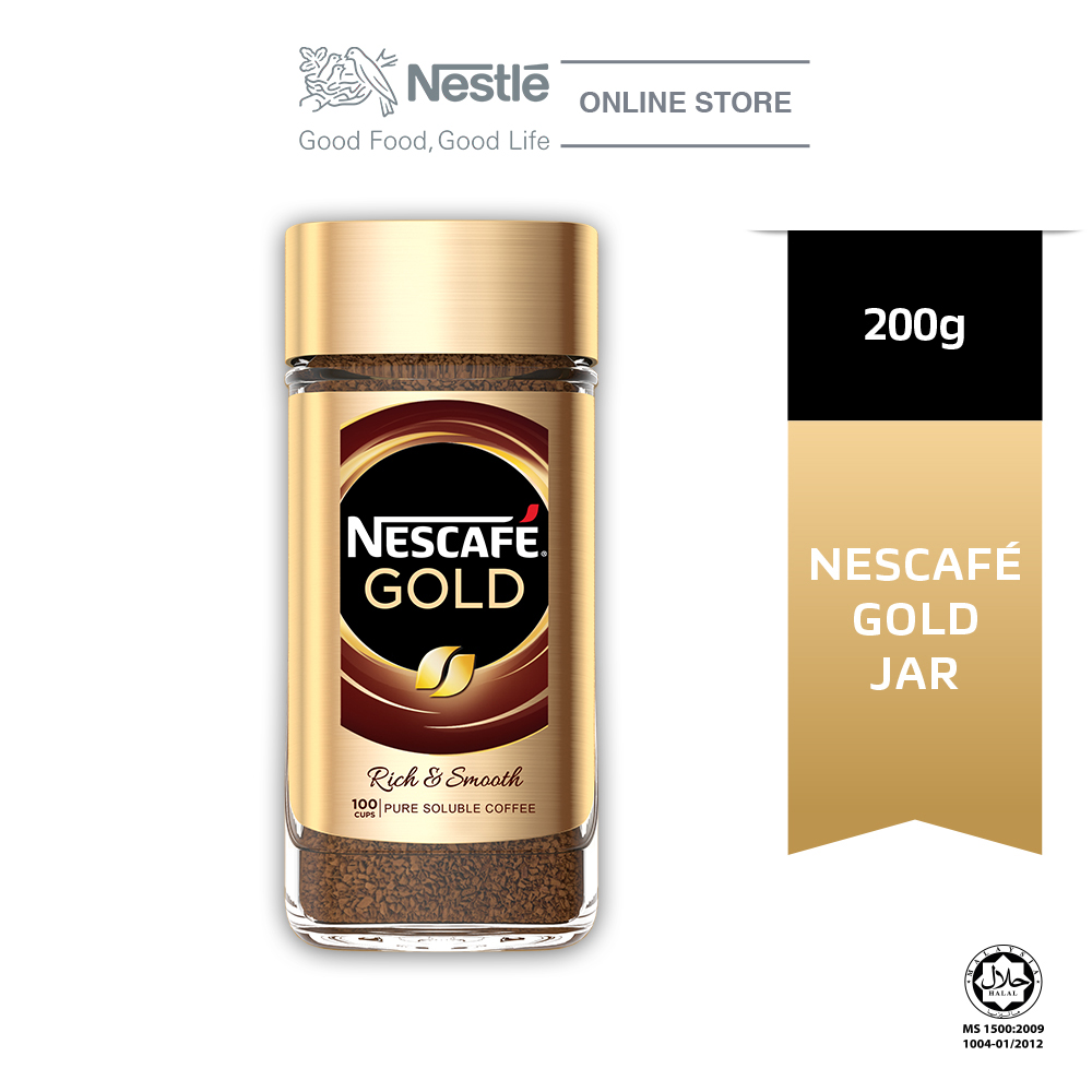 NESCAFÉ Signature GOLD Coffee Jar 200g