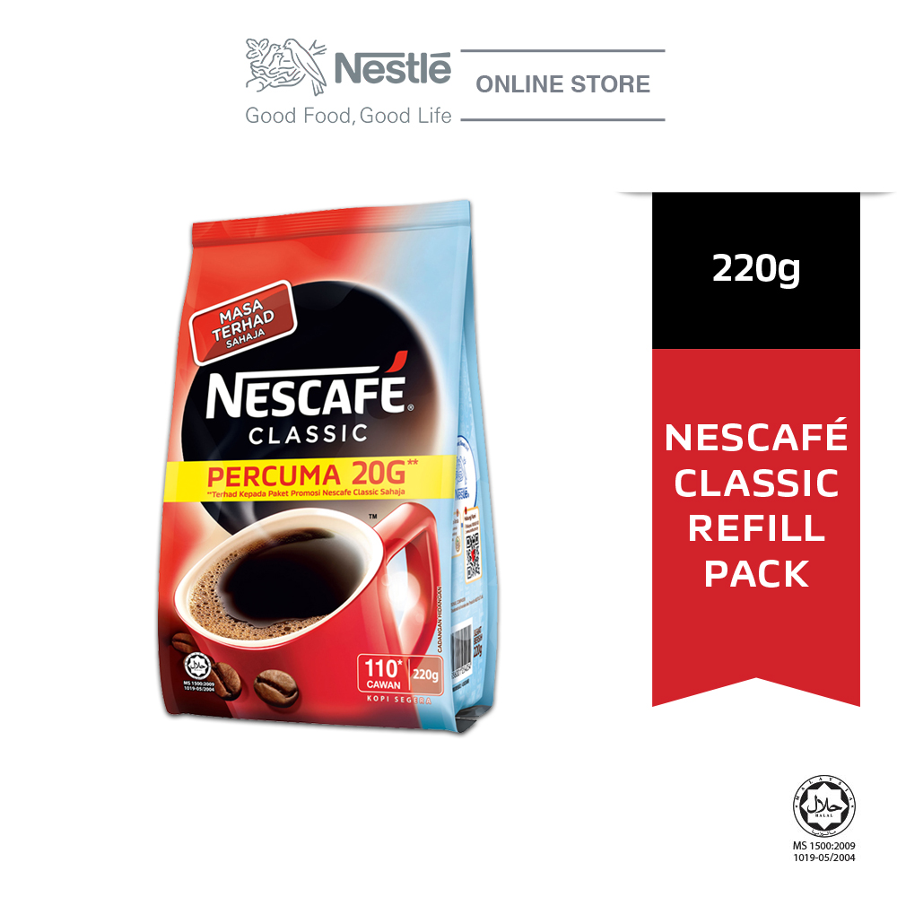 NESCAFE CLASSIC Refill Pack 220g