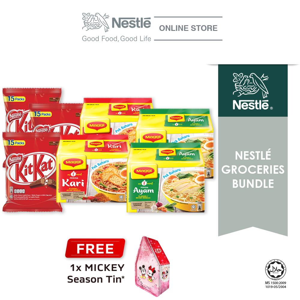 Nestle Groceries Bundle - Option 4 (MAGGI & KITKAT)