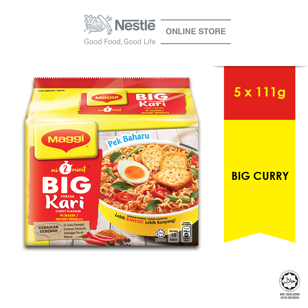 MAGGI 2-MINN Big Curry 5 Packs 111g