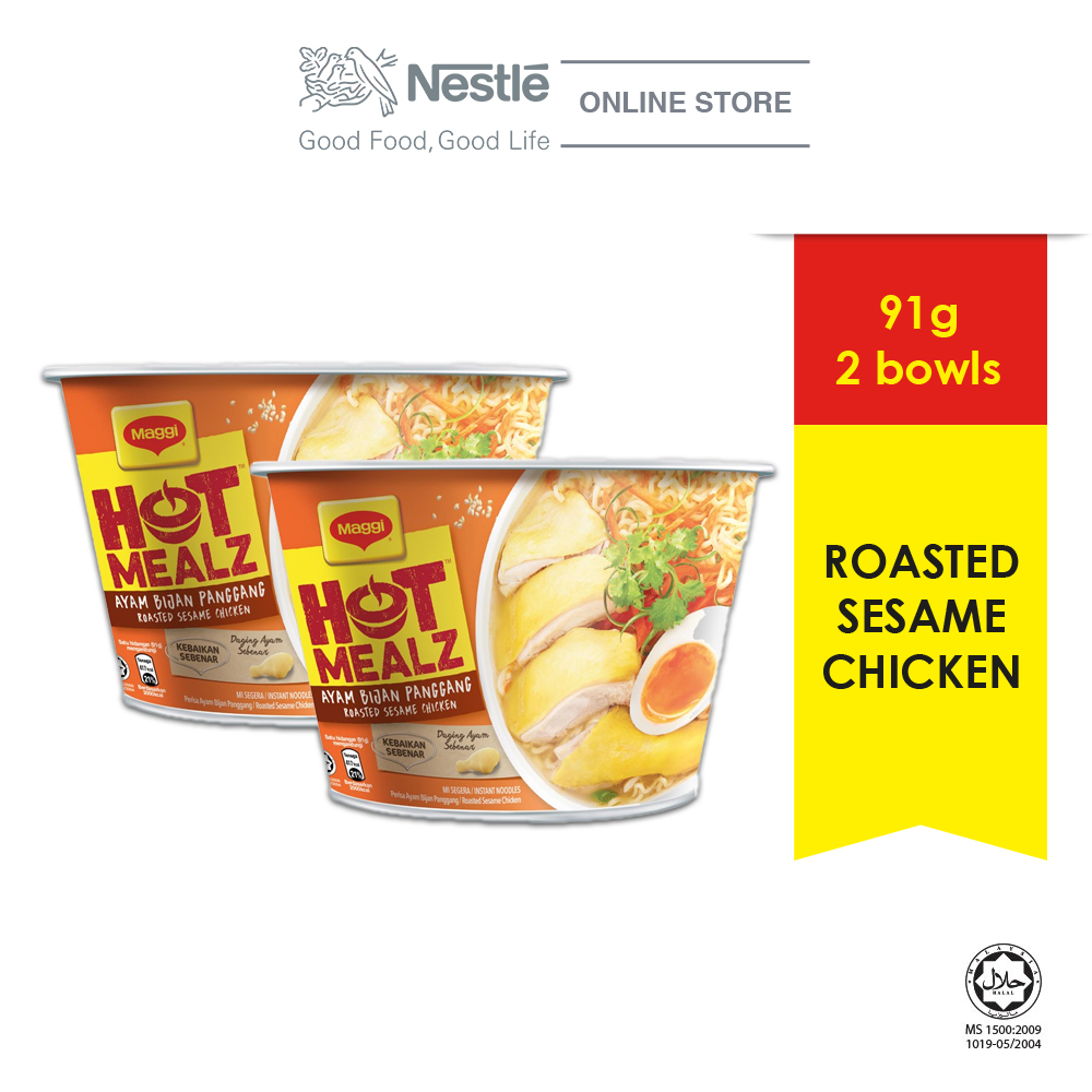 MAGGI Hot Mealz Roasted Sesame Chicken, Bundle of 2