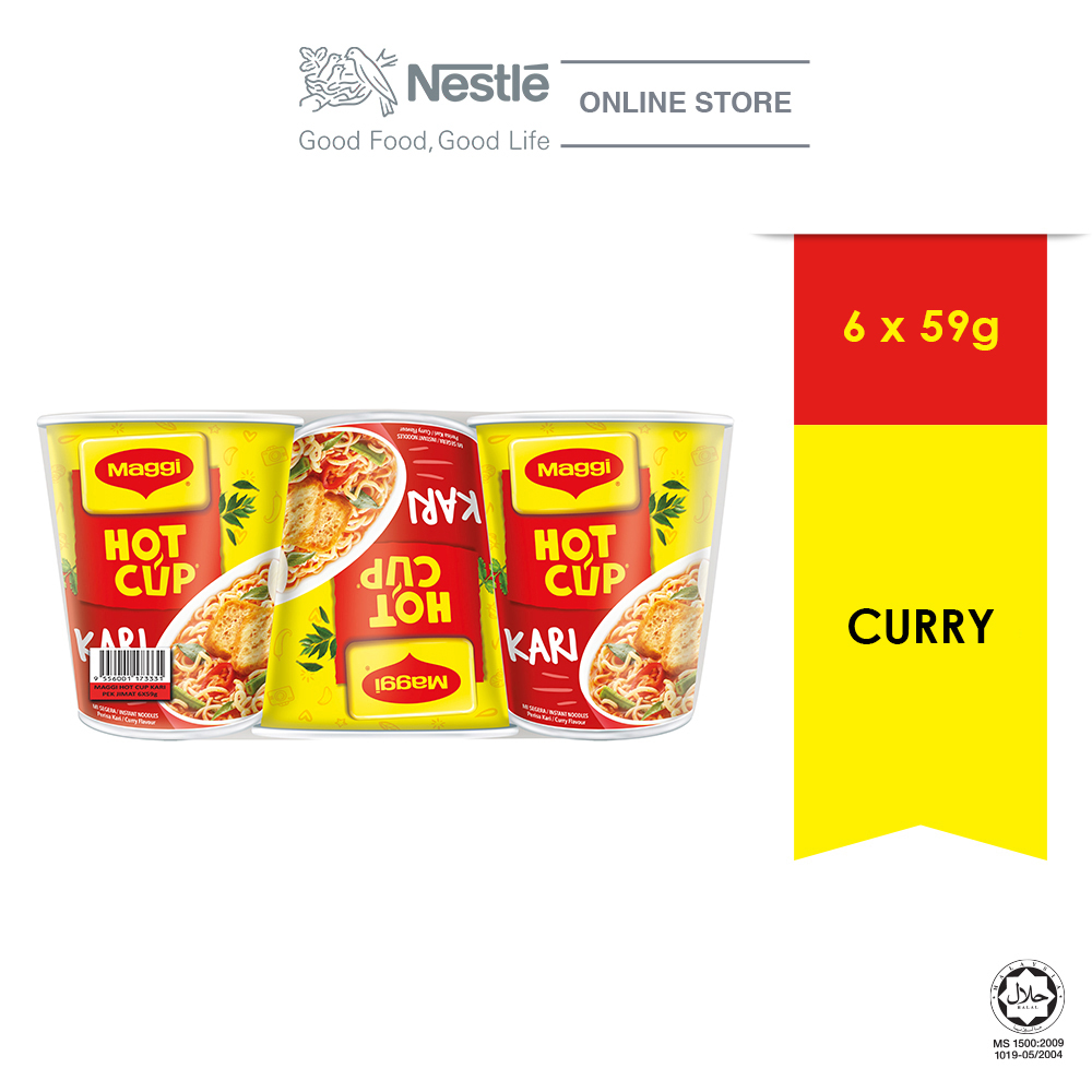 MAGGI Hot Cup x 6 Cups